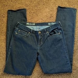Madewell Rail Straight jeans! Excellent!